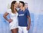 Ivete Sangalo beija marido em show um ano após 'Quem é essa aí papai?'
