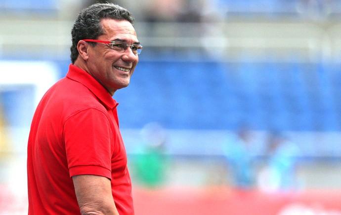 Vanderlei Luxemburgo, Flamengo X Friburguense (Foto: Marcio Alves / Agência O Globo)
