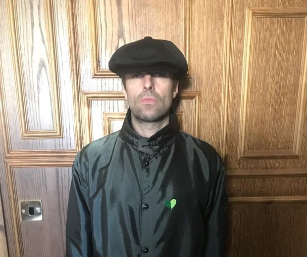 Liam Gallagher participa de campanha do grupo The Climate Coalition (Foto: Divulgação)