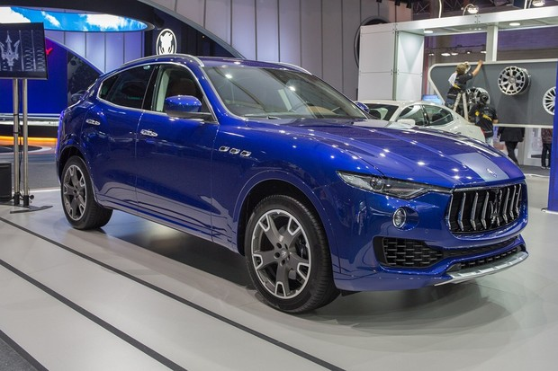 Maserati Levante (Foto: Marcos Camargo/Autoesporte)
