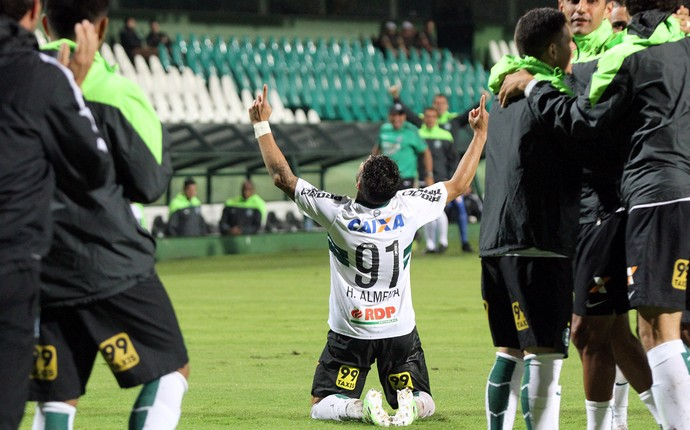 Henrique Almeida Coritiba Santos (Foto: Site oficial Coritiba)