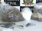 Quadrilha é presa suspeita de assaltos a condomínios e tráfico de drogas