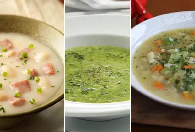 Receitas são opções para varia a sopa do dia a dia (Foto: Divulgação)