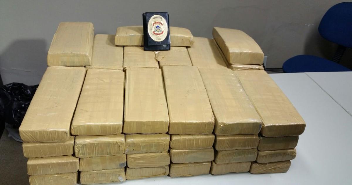 Agentes montam cerco e apreendem 50kg de maconha na TO-164 - Globo.com