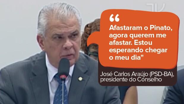 José Carlos Araújo Conselho de Ética (Foto: Reprodução/TV Câmara)