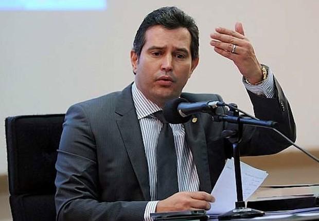 Mauricio Quintella Lessa, ministro dos Transportes, Portos e Aviação Civil (Foto: Marcos Oliveira/Agência Senado)
