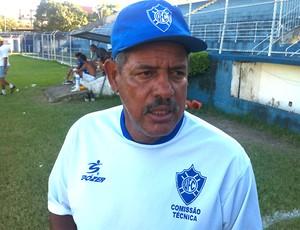 Marcos Nunes, técnico do Vitória-ES (Foto: Sidney Magno Novo/Globoesporte.com)