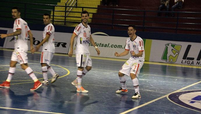 Joinville Futsal x Minas (Foto: Divulgação/Joinville Futsal)