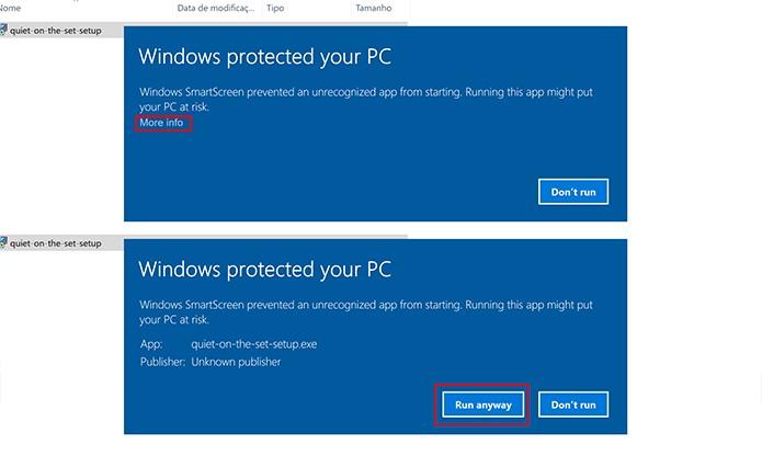 Aprove a solicitação de segurança do Windows (Foto: Reprodução/Elson de Souza)