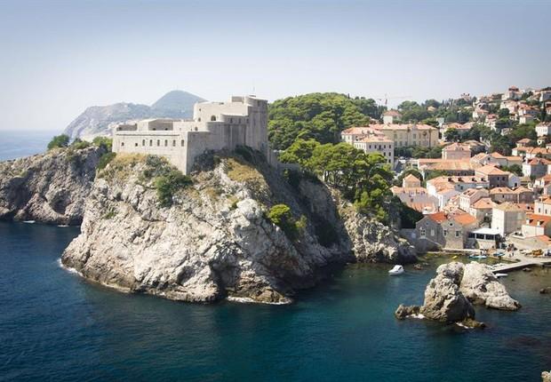 Um dos cenários de Game of Thrones na Croácia (Foto: Agência EFE)