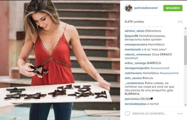 Patrícia Abravanel é atacada por fãs (Foto: Reprodução / Instagram)