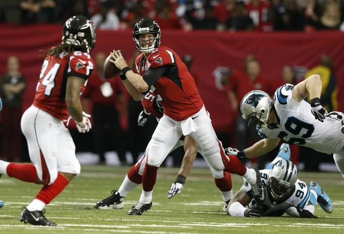 Matt Ryan - Atlanta Falcons x Carolina Panthers - NFL (Foto: Reuters)