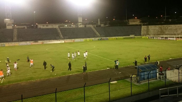 Oeste x Atlético-GO, Oeste, Atlético-GO, Itápolis, Catanduva, Silvio Salles (Foto: Sandra Fonseca / TV TEM)