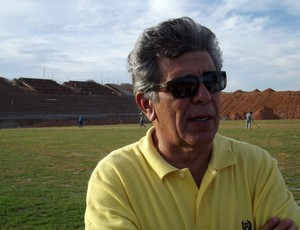 Marconi Barreto, empresário e idealizador do estádio (Foto: Augusto César Gomes/Globoesporte.com)