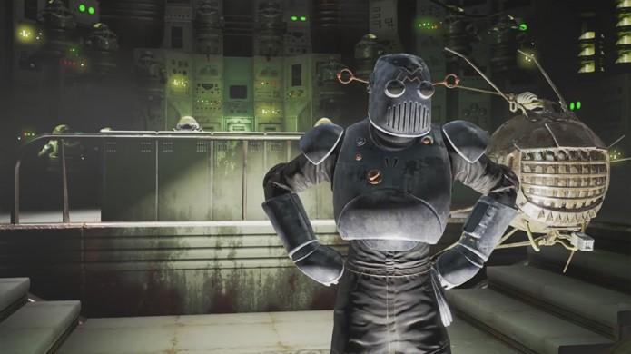 Prepare-se para enfrentar o Mechanist no novo DLC Automatron de Fallout 4 (Foto: Reprodução/YouTube)