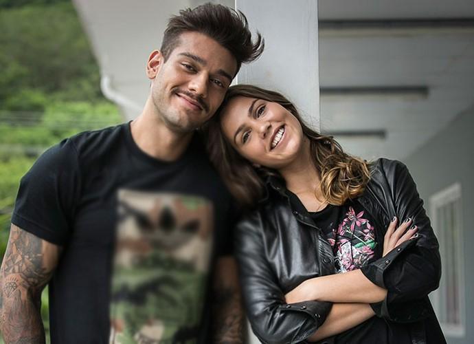 'O Lucas é um parceiro incrível', elogia Pâmela Tomé (Foto: Raphael Dias/Gshow) (Foto: Raphael Dias/Gshow)