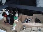 Bebidas com indícios de adulteração são apreendidas pela PRF no Agreste