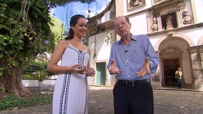 Professor de música Paulo Costa Lima fala sobre a história da Ufba (Foto: TV Bahia)