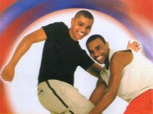 Naldo e Lula, dupla formada pelo cantor antes da morte do irmão em 2008 (Foto: Divulgação)