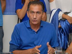 Waldez, do PDT, é eleito pela terceira vez governador do Amapá (Foto: Gabriel Penha/G1)