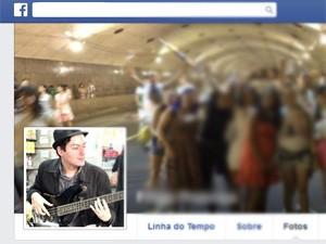 Filipe é músico (Foto: Reprodução/Facebook)