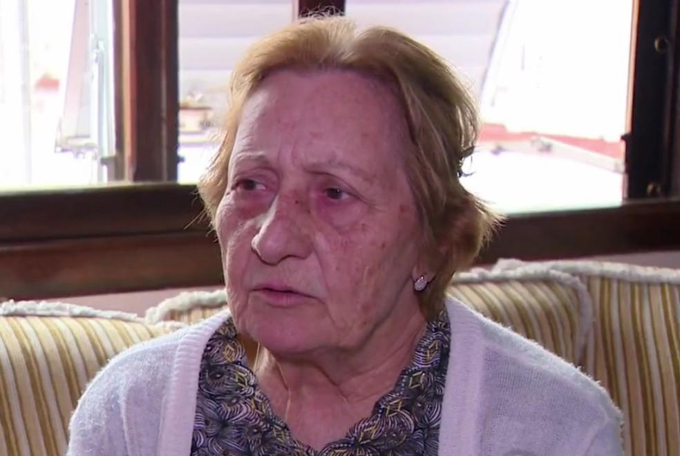 Aposentada Ottilia Gresele Muraro morreu em março vítima de câncer. Ela aguardava há 14 anos pelo pagamento de precatórios (Foto: Reprodução/RBS TV)