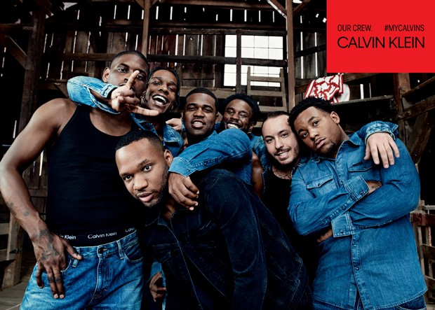 A$AP Rocky e a trupe do coletivo de hip hop A$AP Mob (Foto: © 2017 Willy Vanderperre)