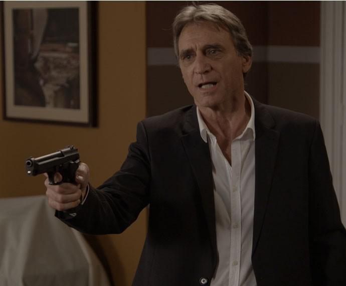 Otávio revela para Beatriz que matou Murilo (Foto: TV Globo)