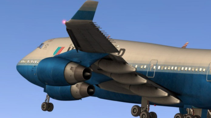 Game simula aviões comerciais com elementos de simuladores profissionais (Foto: Divulgação)