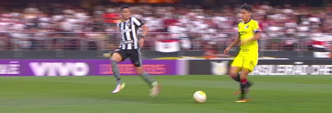 São Paulo x Botafogo - Campeonato Brasileiro 2016 - globoesporte.com 3ac07146ba0c9