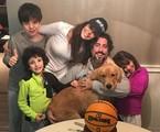 Marcos Mion com a família | Arquivo pessoal