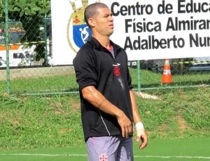 Nilton treino Vasco (Foto: Gustavo Rotstein / Globoesporte.com)