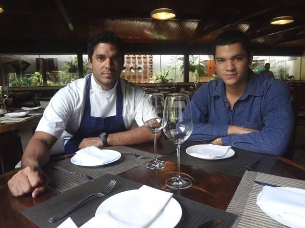 Chefs Thiago e Felipe Castanho estão a frente do Remanso do Bosque, em Belém (Foto: Thais Rezende/ G1)