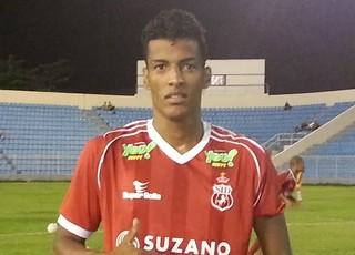Léo Carioca - atacante Imperatriz (Foto: Carloto Junior/Divulgação)
