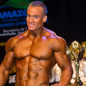 Daniel Guedes, fisiculturista (Foto: Renato Pereira)