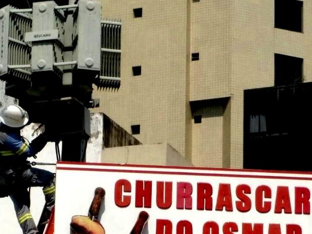 Churrascaria é flagrada em furto de energia (Foto: Ascom/ Celpa)