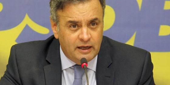 Presidente do PSDB e senador, Aécio Neves (Foto: Givaldo Barbosa / Ag. O Globo)