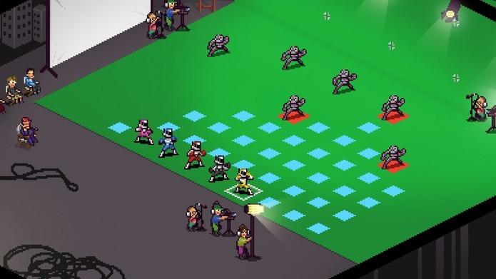 Chroma Squad tem estilo tático de jogabilidade (Foto: Divulgação/Behold Studios)