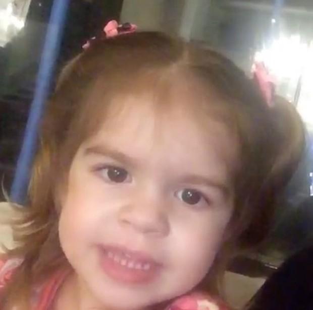 Valentina, filha de Mirella e Ceará (Foto: Reprodução/Instagram)