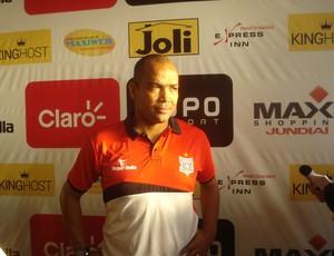 Beto Cavalcante, técnico do Paulista de Jundiaí (Foto: Divulgação / Paulista FC)