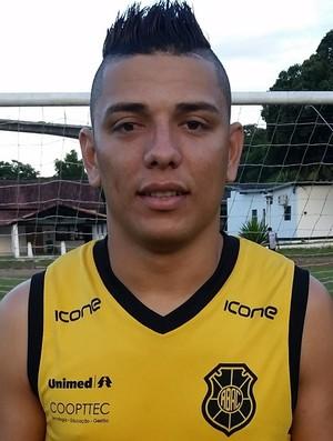 Madison, atacante do Rio Branco-ES (Foto: Sidney Magno Novo/GloboEsporte.com)