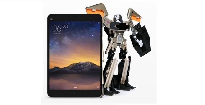 Parceria da Xiaomi e Hasbro criam Transformer de tablet (Foto: Divulgação/Xiaomi)