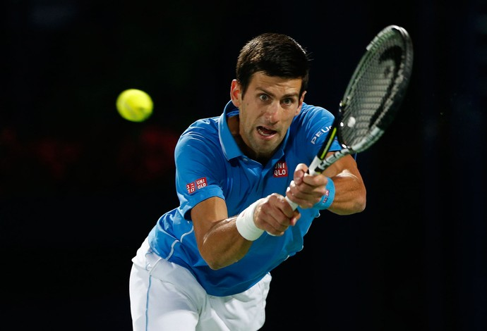 Djokovic Final ATP de Dubai (Foto: Reuters)