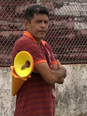 João Carlos Cavalo técnico do Rio Branco (Foto: Reprodução/TV Acre)