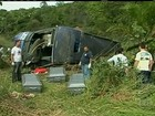 Acidente de ônibus mata 10 pessoas e deixa 21 feridas no sul da Bahia