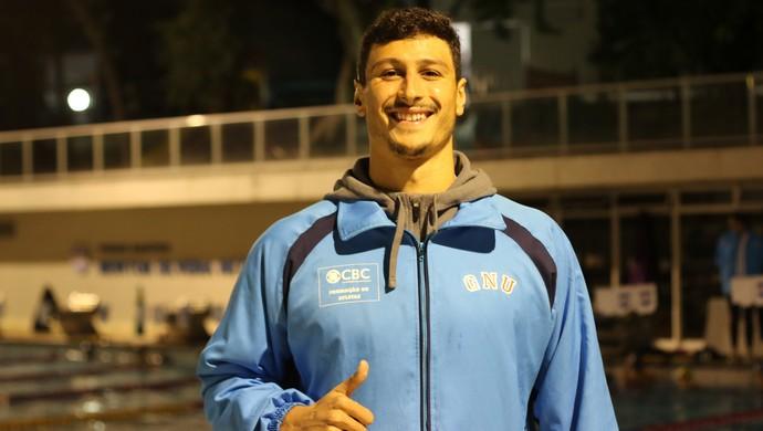 Nadador gaúcho André Pereira (Foto: Diego Guichard)