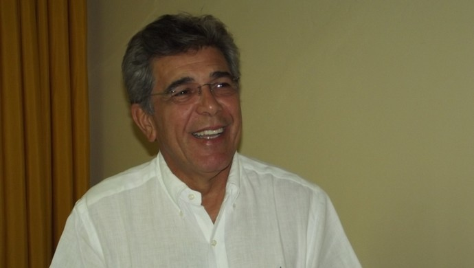 Marconi Barretto, presidente do Globo Futebol Clube (Foto: Tiago Menezes)