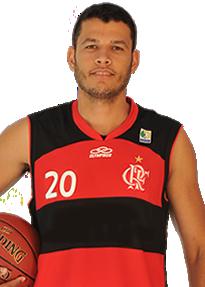 Douglas Correa dos Santos, do Flamengo (Foto: Divulgação/NBB)