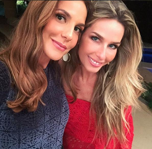 Nossa linda Mari Weickert conversa com Ivete sobre a ditadura da beleza. (Foto: Reproduo / Instagram)