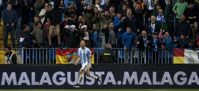 Charles Atlético de Madrid x Málaga (Foto: AFP)